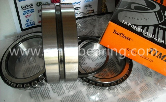 42381 42587d Timken Double Row Tapered Roller Bearings Tdo